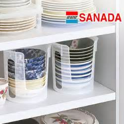 Kitchen Cabinet Plate Rack Storage Sanada Kitchen Cabinet Kitchen Dishes Plate Storage Rack Big Small Pp Material Instorage Holders