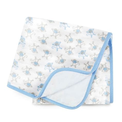 Ideal Baby Swaddle 3pcs Cheeky Monkey ideal baby by the makers of aden anais