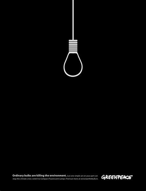 germ killing light bulbs 21 more brilliant minimalist print ads bored panda