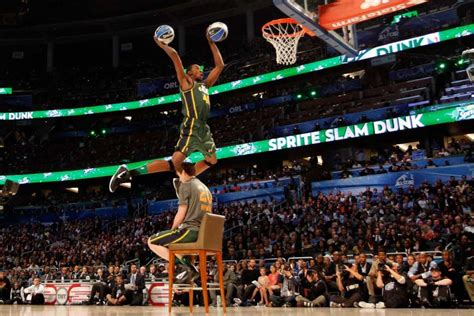best of slam dunk contest nba slam dunk contest history newsday