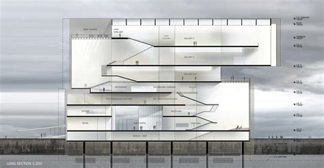 section 3c leave steven holl architects a f a s i a