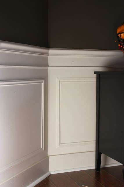 Frame Wainscoting by Day 17 Add Some Wainscoting To Your Home