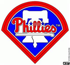 phillies colors phillies coloring page printable phillies