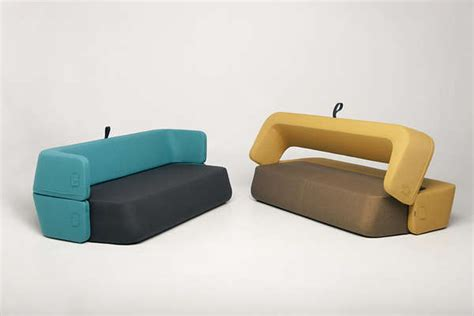 Rotating Sofa by Rotating Backrest Daybeds Revolve Sofa