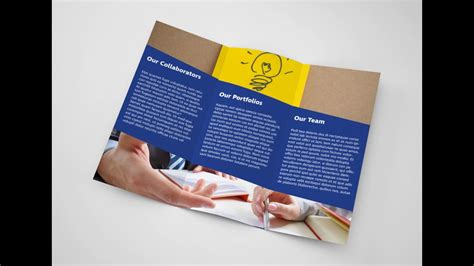 creating trifold brochure in adobe indesign tutorial part