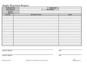 Equipment Requisition Form Template by Supply Equipment Requisition Form Hashdoc