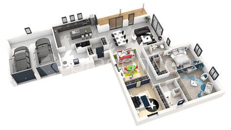 plan en 3d beautiful plan en 3d with plan en 3d d floor plans 187 maison opale v