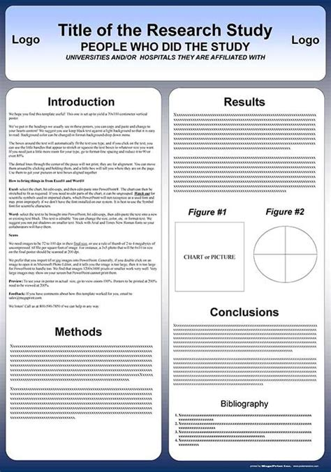 templates for poster presentation 70x100 cm poster presentation template herramientas para