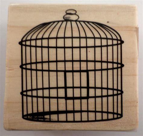wire vintage style bird cage birdcage wooden rubber st