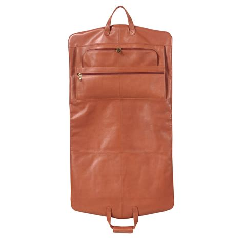 Leather Carrier Bag For The Who Has Everything by Leather Garment Bag Carrier By Winn International