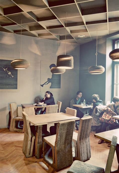idea design cluj cardboard coffee and culture defining l atelier cafe in