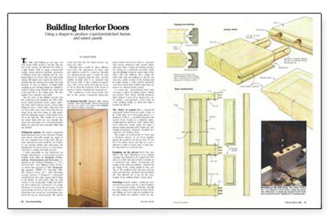 building interior doors fine homebuilding