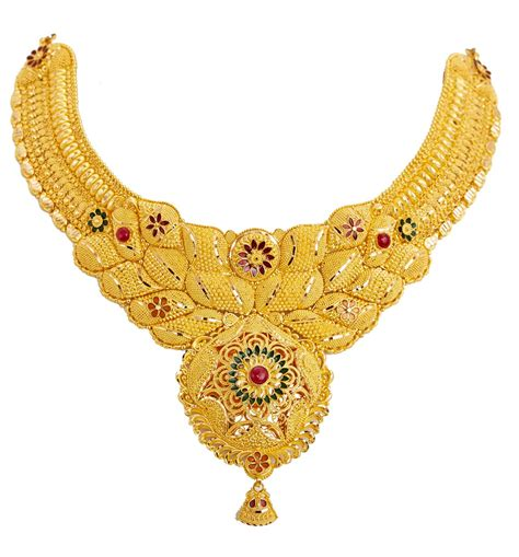 Gold Is Dizain Image by Calcutta Gold Designer Necklace Designs