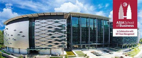 Mit Malaysia Mba by Asia School Of Business International Program Mit Sloan