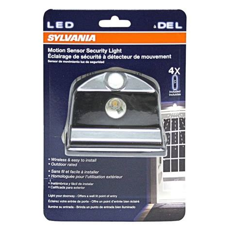 sylvania sensor light sylvania 72317 led battery operated motion sensor