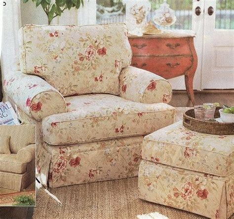 cottage style chairs and ottomans 1000 images about overstuffed chairs on pinterest
