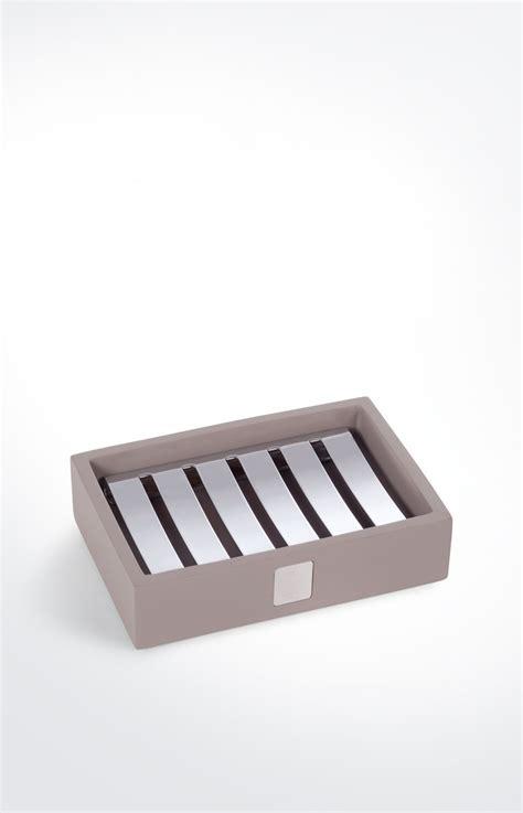 icon design living online kaufen seifenschale bathline grau ros 233 im joop online shop