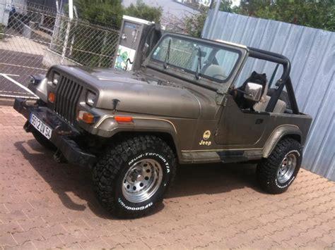 Jeep Wrangler 10000 Troc Echange Jeep Wrangler 4l 1989 10000 Euros Sur