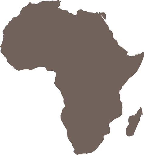 africa map clipart africa map free images at clker vector clip