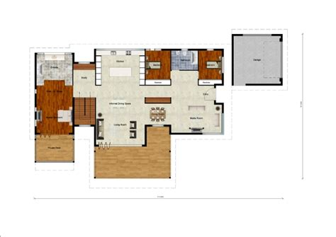floor plans for sloping blocks bella casa constructions sloping block designs
