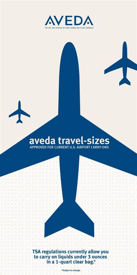 Travel Size going on vacation be ready with aveda travel size