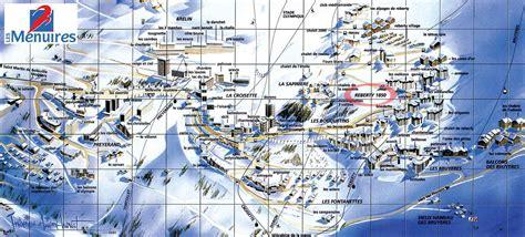 Plan Images by Plan De La Station Les Menuires