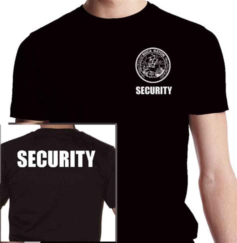 Polo T Shirt Kaosbaju Scurity security shirts