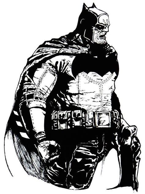 Dc Unlimited Batman Tdkr Frank Miller batman the returns frank miller by theoldbrown deviantart on deviantart