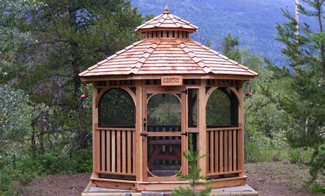 gazebo designs gazebo designs for backyards