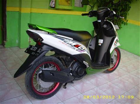 Stiker Lubang Peluru Dan Goresan Mobil Motor modifikasi mio j minimalis oto trendz