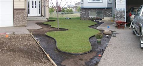 Landscape Plastic Landscape Edging Ideas