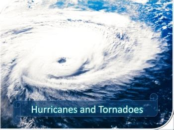 Hurricanes And Tornadoes Power Point Lesson And Quiz By Powerpoint Maniac Hurricane Powerpoint Template Free