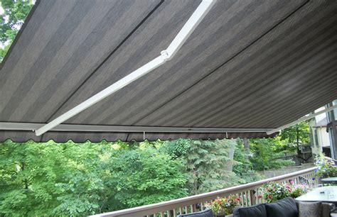 retractable awning canada physique xl over second floor deck rolltec 174 retractable