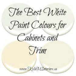 decorators white vs white dove white paint colours for cabinets and trim using benjamin