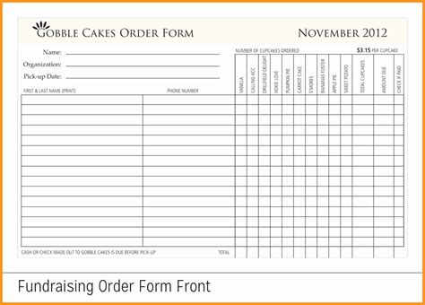 7 8 Fundraising Form Resumete Fundraising Forms Templates Free