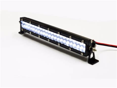 10 Led Light Bar 1 10 Led Light Bar White X 1 Set For Tamiya Scx10 Rc4wd Rc Car Crawler Truck In Parts