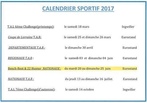 Calendrier Du Sportif Calendrier Sportif