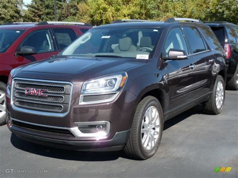gmc acadia colors 2016 midnight amethyst metallic gmc acadia slt awd