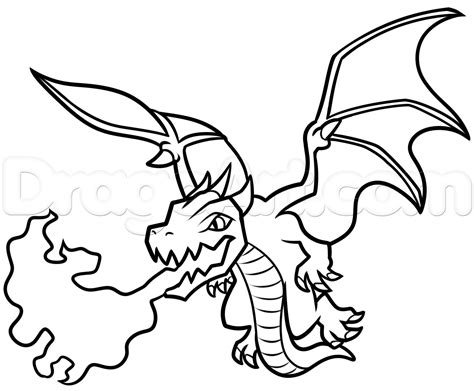 clash of clans dragon coloring page how to draw dragon from clash of clans step by step