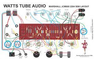 marshall jcm800 2204 style guitar amplifier kit marshall