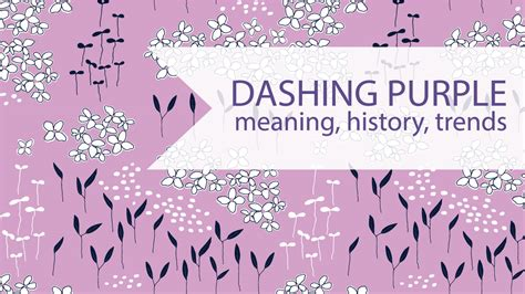 pattern and meaning in history dilthey dashing purple and bold designs quirky sewing