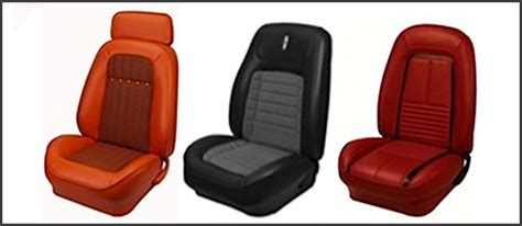 muscle car upholstery muscle car seats with a modern twist