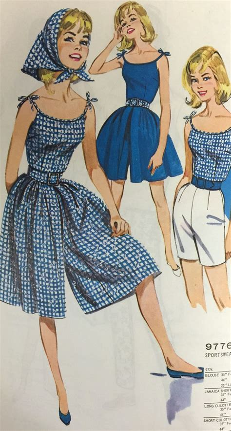 mccall pattern company history decades of culotte sewing patterns on the mccall pattern