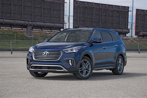 hyundai santa fe limited 2014 2017 hyundai santa fe limited ultimate fwd test