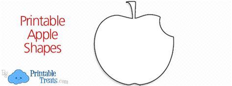 printable apple shapes printable nunchucks outline printable treats com