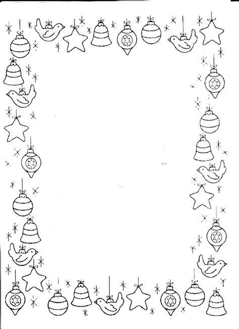 cornici natalizie da colorare cornicette di natale