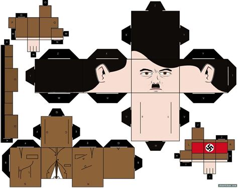 Papercraft Blogs - papertoys staline paper fr