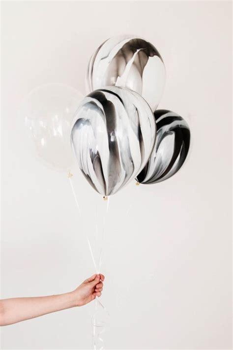 11 Black Agate Balloon Balon Motif black and white marble balloon set marble balloons