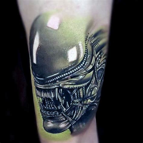 alien tattoo design 70 designs for extraterrestrial ink ideas