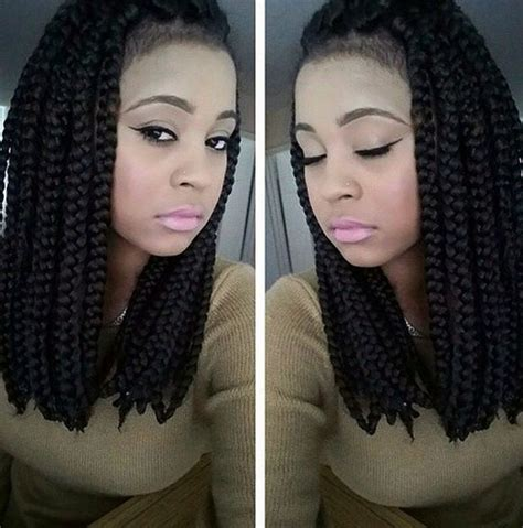 the short poetic justice braids 59 best images about braided bob on pinterest back to